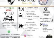 República Mau Mau, a mais tradicional de Guará!