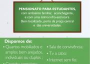 Pensionato Butuí, em Pelotas