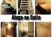 Alugo suite em apt de alto padrão