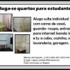 ALUGO SUITE PARA ESTUDANTES